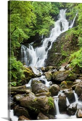 Torc Waterfall; Killarney, County Kerry, Ireland