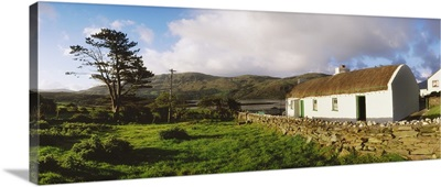 Traditional Cottage, Near Lough Rus Point, Ardara, Co Donegal, Ireland