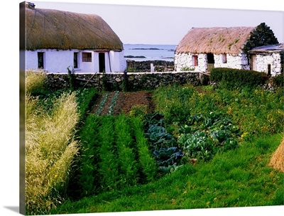 Traditional Cottages, Co Galway, Ireland