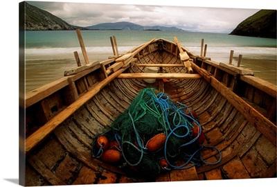 Traditional Currach, Achill Island, County Mayo, Ireland