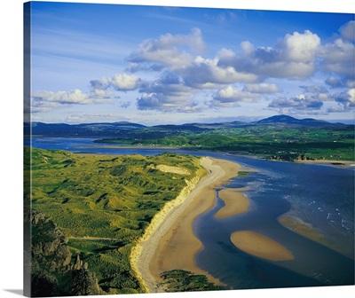 Trawbreaga Bay, Five Finger Beach, Inishowen, Co Donegal, Ireland