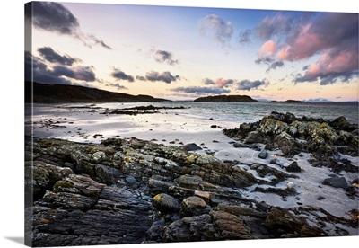 Uisken Beach, Ross Of Mull, Isle Of Mull, Argyll And Bute, Inner Hebrides, Scotland, UK