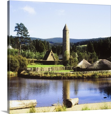 Ulster History Park, Omagh, County Tyrone, Ireland; Crannog And Early Monastery