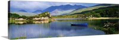 Upper Lake, Killarney, Co Kerry, Ireland, Boats On A Lake