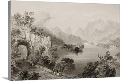 Upper Lake, Killarney, County Kerry, Ireland. C.1841