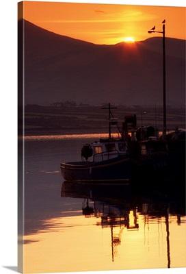 Valentia Island, County Kerry, Ireland; Fishing Boats