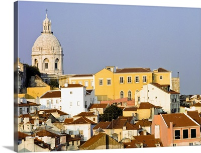 View Of Town Of Alfama