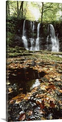 Waterfalls, During The Autumn, Glenoe Co Antrim