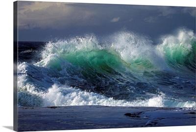 Waves Crashing On Cape Kiwanda