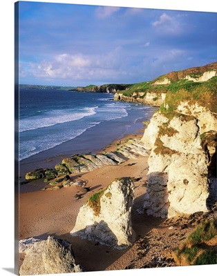 White Rocks Beach, Between Portrush and Dunluce, County Antrim, Ireland