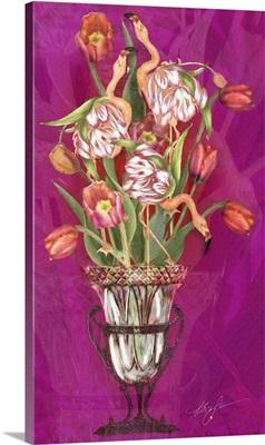 Tip Toeing Thru The Tulips (Flamingos)