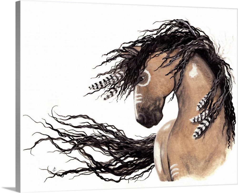 Genial Buckskin   Majestic Horse