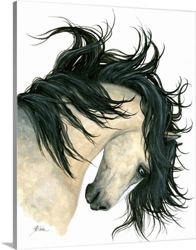majestic buckskin horse wall art canvas prints framed prints wall