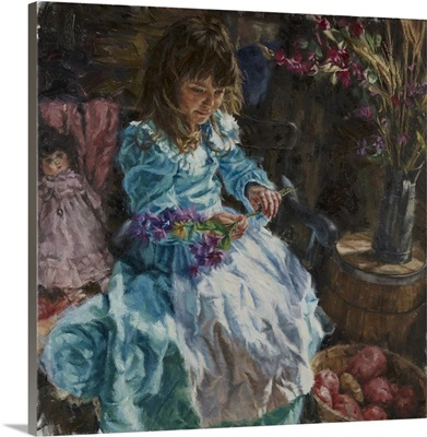 Dolls and Flowers