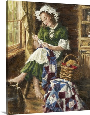 The Young Seamstress