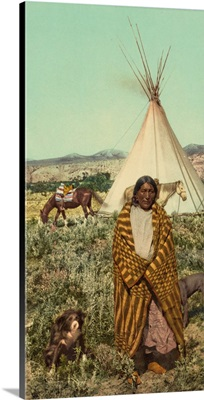 A Crow Native American