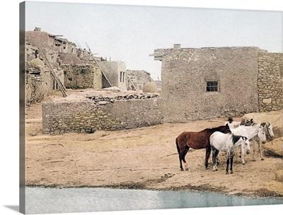 Acoma New Mexico Vintage Photograph