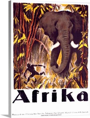 Africa, Vintage Poster