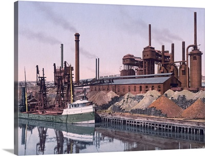 American Steel and Wire Companys Plant Cleveland Ohio