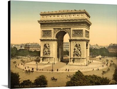 Arc De Triomphe, De l'Etoile, Paris, France