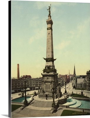 Army And Navy Monument, Indianapolis, Ind.