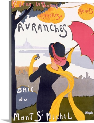 Avranches, Vintage Poster, by Albert Bergevin