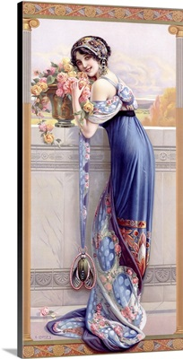 Balcony Bouquet, Vintage Poster, by Gasper Camps