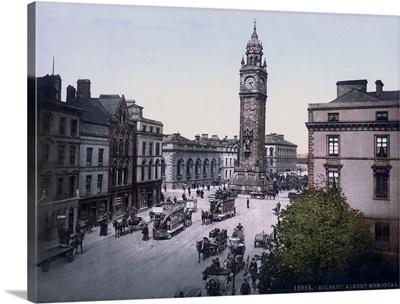 Belfast. Albert Memorial