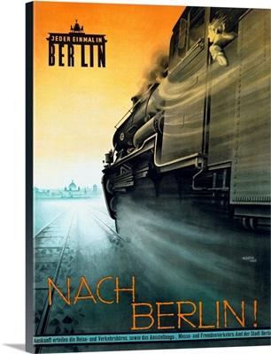 Berlin, Nach, Vintage Poster, by Rosen