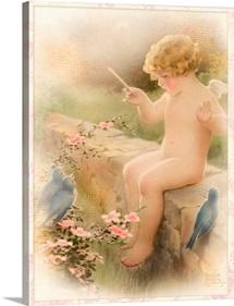 Bessie Pease Angel Reflection