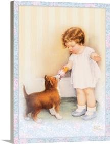 Bessie Pease Little Girl