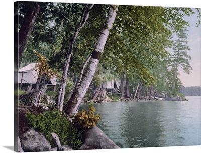 Camp in the Adirondacks