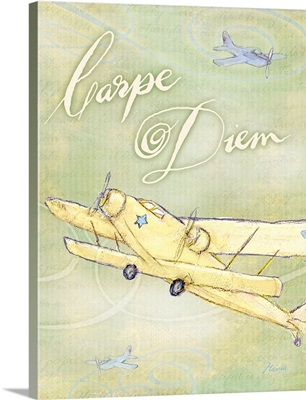 Carpe Diem Inspirational Print