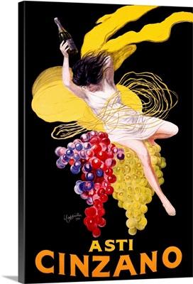 Cinzano Asti Aperitif Wine Vintage Advertising Poster