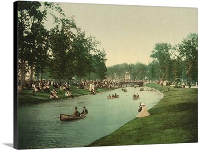 Detroit, Belle Isle, Grand Canal