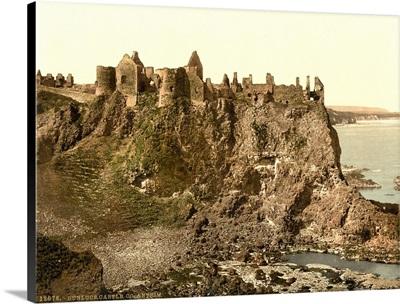 Donluce Castle, Country Antrim, Ireland