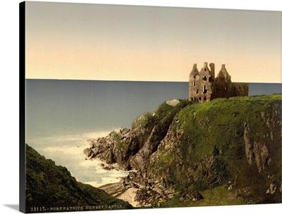 Dunsky Castle, Pitlochrie (I.E. Portpatrick), Scotland