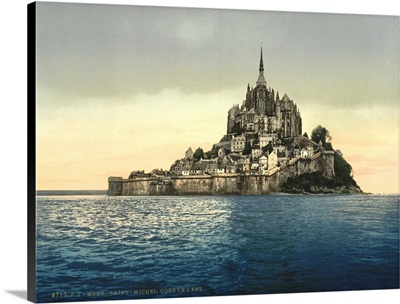 East Coast At High Water, Le Mont St. Michel, France
