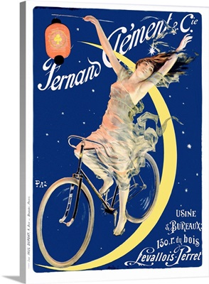 Fernand Clement and Cie, Vintage Poster, by Jean de Paleologue
