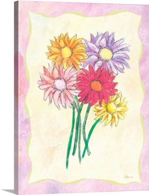 Flowers Inspirational Print