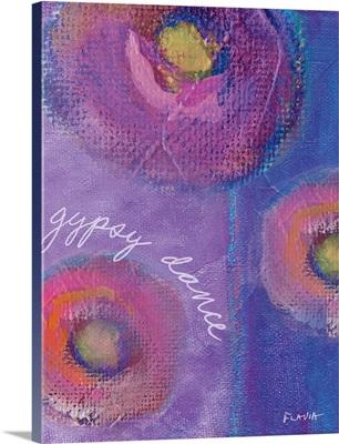 Gypsy Dance Inspirational Print