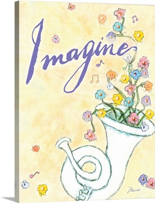 Imagine Inspirational Print