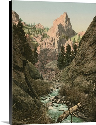 In South Cheyenne Canyon, Colorado
