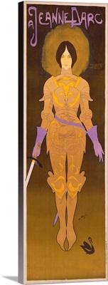 Jeanne dArc, Vintage Poster, by Georges de Feure