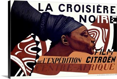 La Croisiere Noire, Vintage Poster, by Basil Schoukhaeff