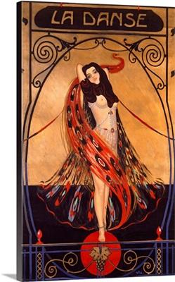 La Danse, Vintage Poster, by Emilio Vila