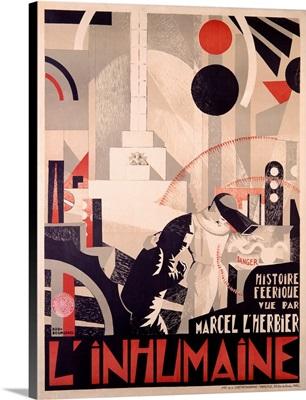 LInhumaine, Vintage Poster