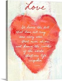 Love Inspirational Print