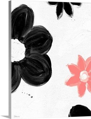 Modern Flower Pink Print