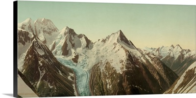 Mt. Fox And Mt. Dawson From Asulkan Pass, Selkirk Mountains
